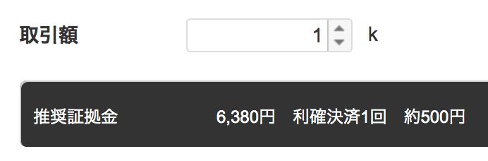 トライオートFXで資金6000円くらいで始められる