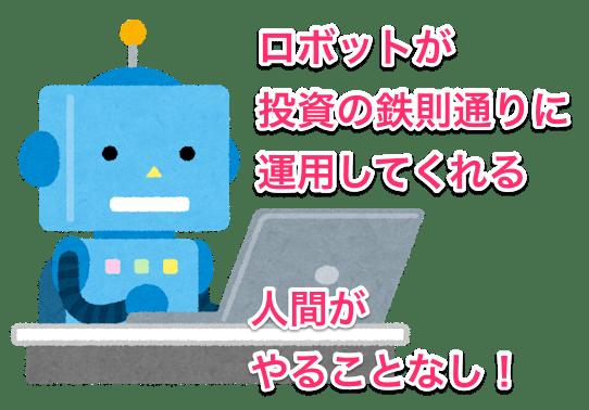 ロボットが運用するイメージ