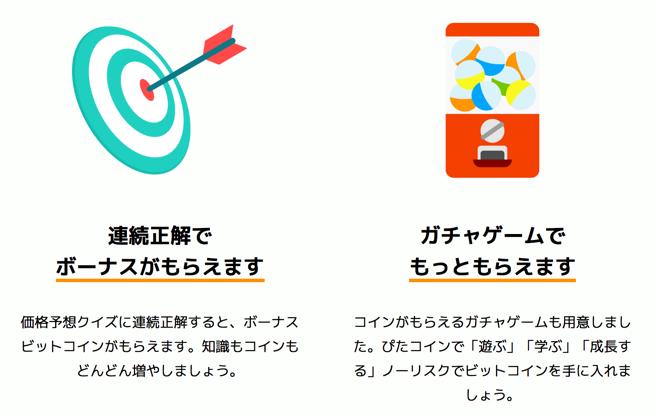 アプリ「ぴたコイン」でビットコインを無料でゲット