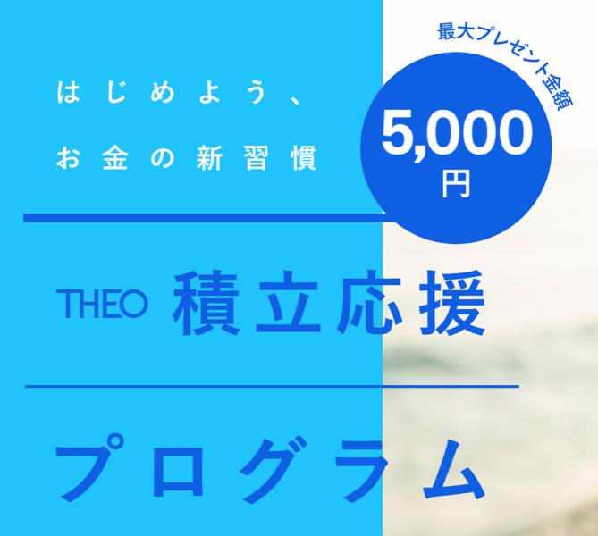 theoの積立キャンペーン