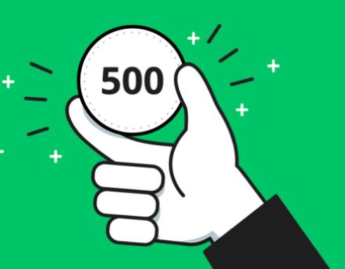 line500円投資