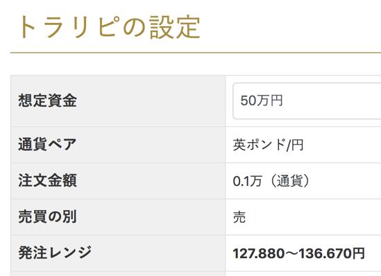 50万円でトラリピ