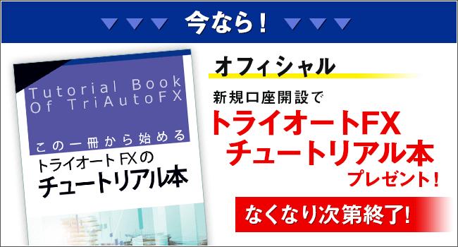 トライオートFXのマニュアル本