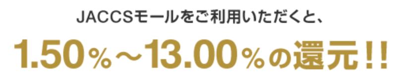 松井証券カードの還元率