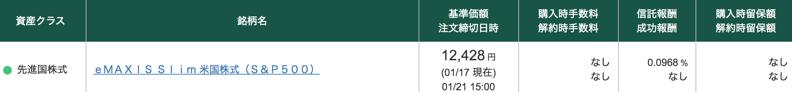 松井証券で積立する商品