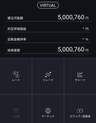 dmm fxバーチャルアプリ