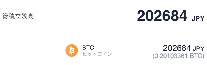 ビットコイン積立の成績